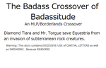 The Badass Crossover of Badassitude by Mudpony