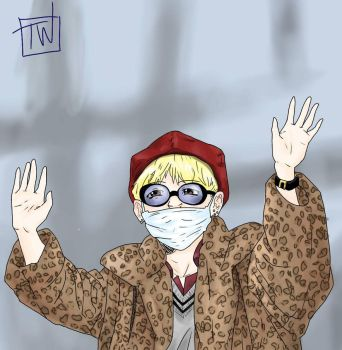 Taehyung the diva by tessieworks