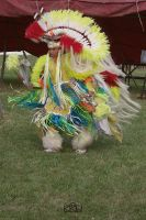 Native American Dancer by Crigger