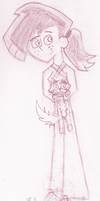 :sketch: Lilith and Shadow by Linariel