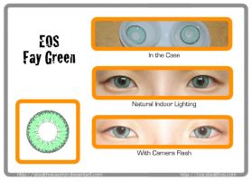 EOS Fay Green Circle Lenses by Stealthos-Aurion