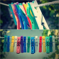 clothes pegs by littleancsi
