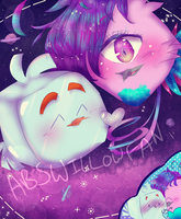 ~ART TRADE~ Galaxia and Ice Bird by ABSWillowFan