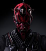 Darth Maul (Square Enix Design) by SoulStryder210
