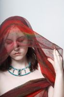 Red veil by Sinned-angel-stock