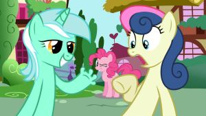 Wallpaper Lyra have fingers thx to Pinkie by Barrfind