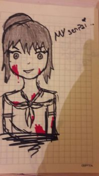 yandere-chan #_# by reallymaniacinfamily