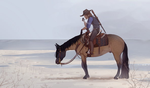Cowboy Guys by PacificNoir