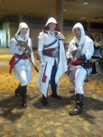 Ezio and Novices by rabid-llama