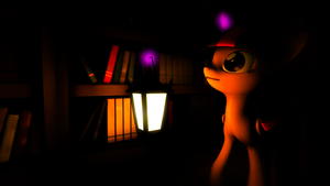 Wandering the library... by ShaedCloak