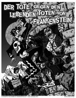 EL MUERTO vs THE ZOMBIE OF FRANKENSTEIN by javierhernandez