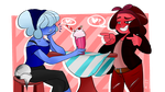 hey babe wanna fuse (gif oops) by MissPolycysticOvary