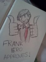 Frank Approves by AuraDragonxx