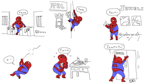 The New Ultimate Spiderman by unusable
