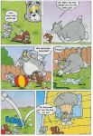 Tom and Jerry Fat Comic 04 by MCsaurus