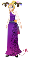 Round 1: The Prom of Flowers- Lily by Raspinbel2