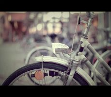 Where is my bike? by Maegondo