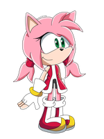 tLotC: Amy Rose the hedgehog by DiamondRevenge