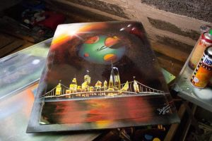 Spray Paint Art Photopaper by RiensArtwork