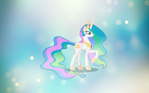 Celestia Wallpaper by nintenman1