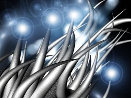 Spikey blury light thing by 7thsign