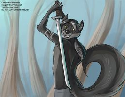 [Anthro Studs Calender]  September 2015 by Ulario