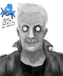 Ghost in the Shell: Batou by NvmenInest