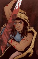 Michonne colors by BankyStar