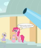 The apprentice of Pinkie is the friend of Pinkie. by GoggleSparks