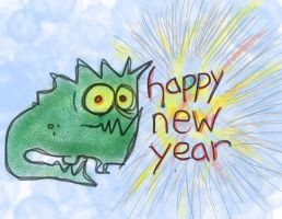 Monster of Optimism HNY by billiambabble