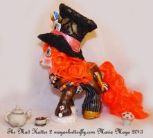 The Mad Hatter II Custom My Little Pony Back by mayanbutterfly