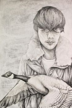 'Going West' Drawing by MichaelShapcott