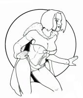 Emma Frost inked by ccicconi
