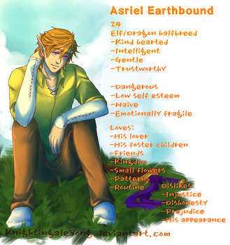 Asriel Earthbound Profile by KnightingaleSong