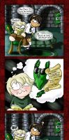 Scary HP Ship LM-DM : Holidays by thedustyphoenix