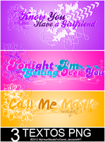Pack de Textos Png+OO2. by MyHeartBeatsForDemiL