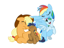 AppleDash Motherhood by LittleTiger488