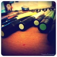 Markers. by ForgottonPhotography