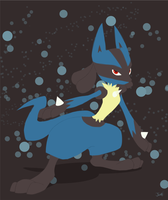 Lucario by Iddle-Diddle