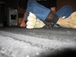 Werewolf Feet Cool Angle by nrr4x5