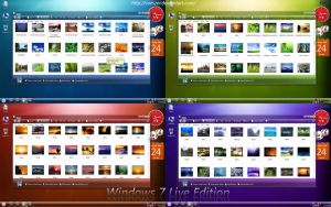 Windows 7 Live Edition by caeszer