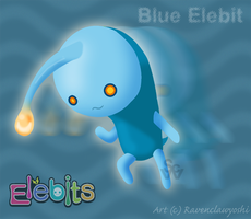 Blue Elebit by ravenclawyoshi