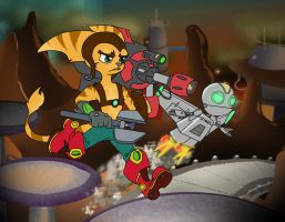 Ratchet and Clank by Pyreo