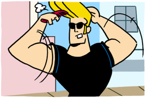 Johnny Bravo by theEyZmaster