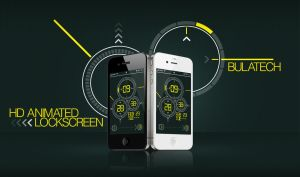 iPhone Locksceen HD: Bulatech [Animated] by hafizero