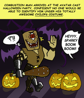 Mindblower Halloween Entry by Booter-Freak
