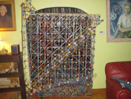 Mechanical K'nex Computer by Austron