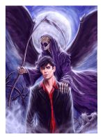 Death Dylan Dog by raffa3le