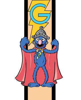 Super Grover by JoeMedeiros