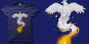 from the ashes III t-shirt by biotwist